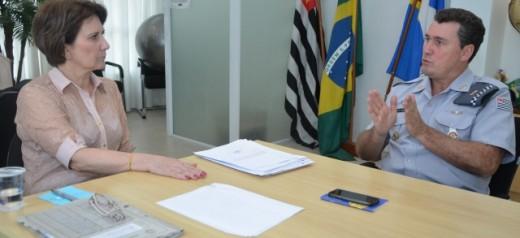 Prefeita de Sumaré recebe visita do comandante regional do Policiamento do Interior e destaca intensificação da Operação Sossego