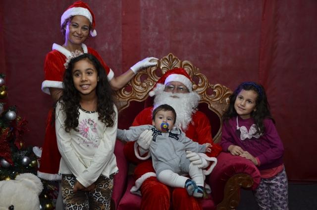 'Natal Encantado 2014' de Sumaré atrai público de 1.000 pessoas nos três primeiros dias