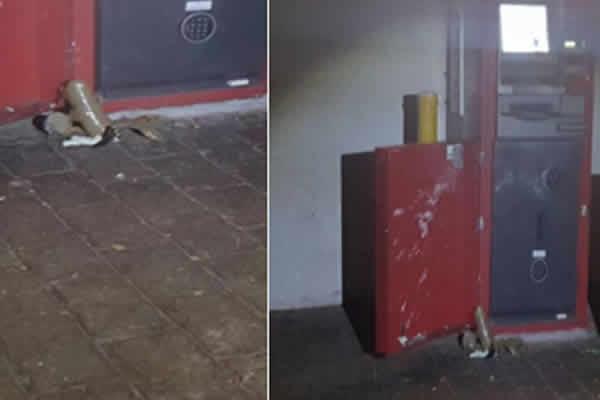 Tentativa de Furto de Caixa Eletrônico em Sumaré