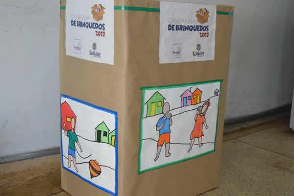 Campanha de Brinquedos tem novas adesões e precisa de doações de caixas