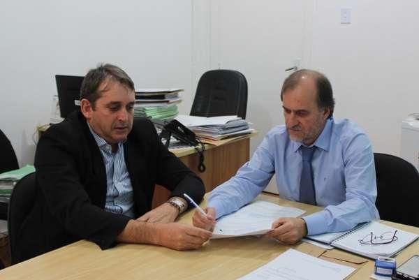Prefeito Luiz Dalben assina termo de cooperação junto à Polícia Federal
