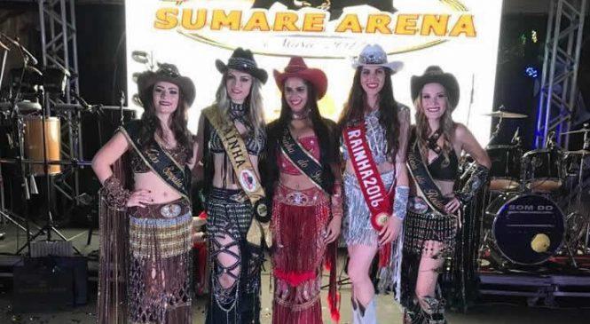 Sumaré Arena recebe inscrições para Rainha, Princesa e Miss Simpatia 2018