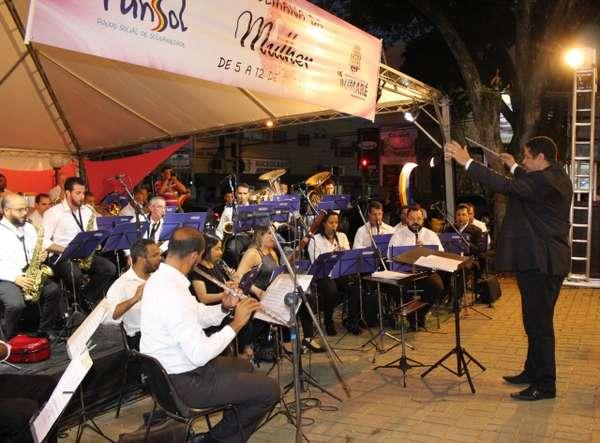 Banda Sinfônica Municipal apresenta mais um Concerto Oficial nesta quarta-feira, dia 23