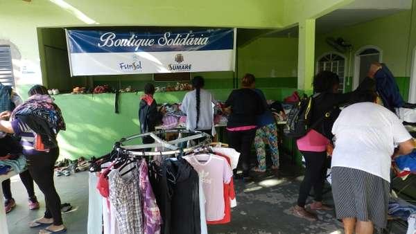 """""""Boutique Solidária"""" já beneficiou 1.360 famílias em situação de vulnerabilidade social"""