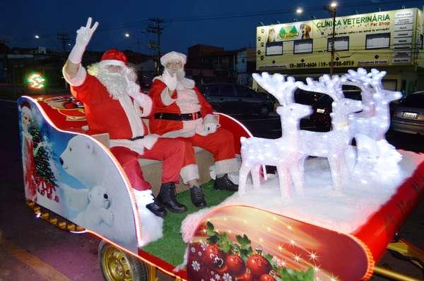 'Natal do Bem Itinerante' oferece atividades natalinas em todas as regiões de Sumaré
